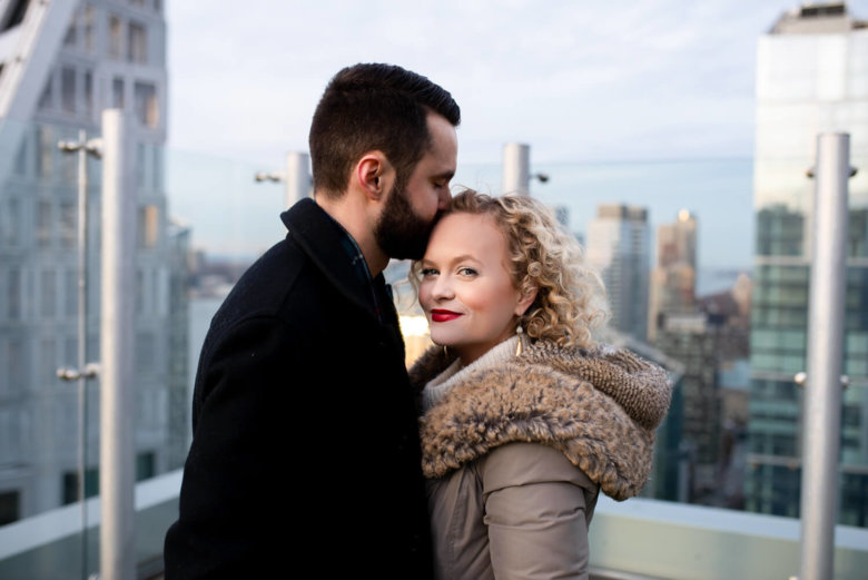 Amanda Jane Cooper Engagement Session with ALN Images in New York City.
