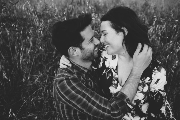 Engagement session photography by travel wedding photographer