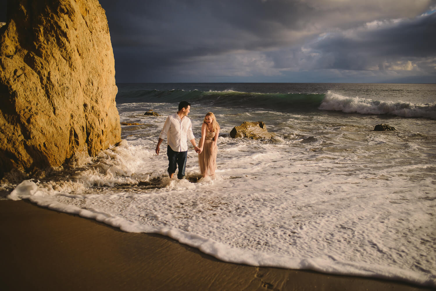 Beach engagement shoot Photography Proposal Session