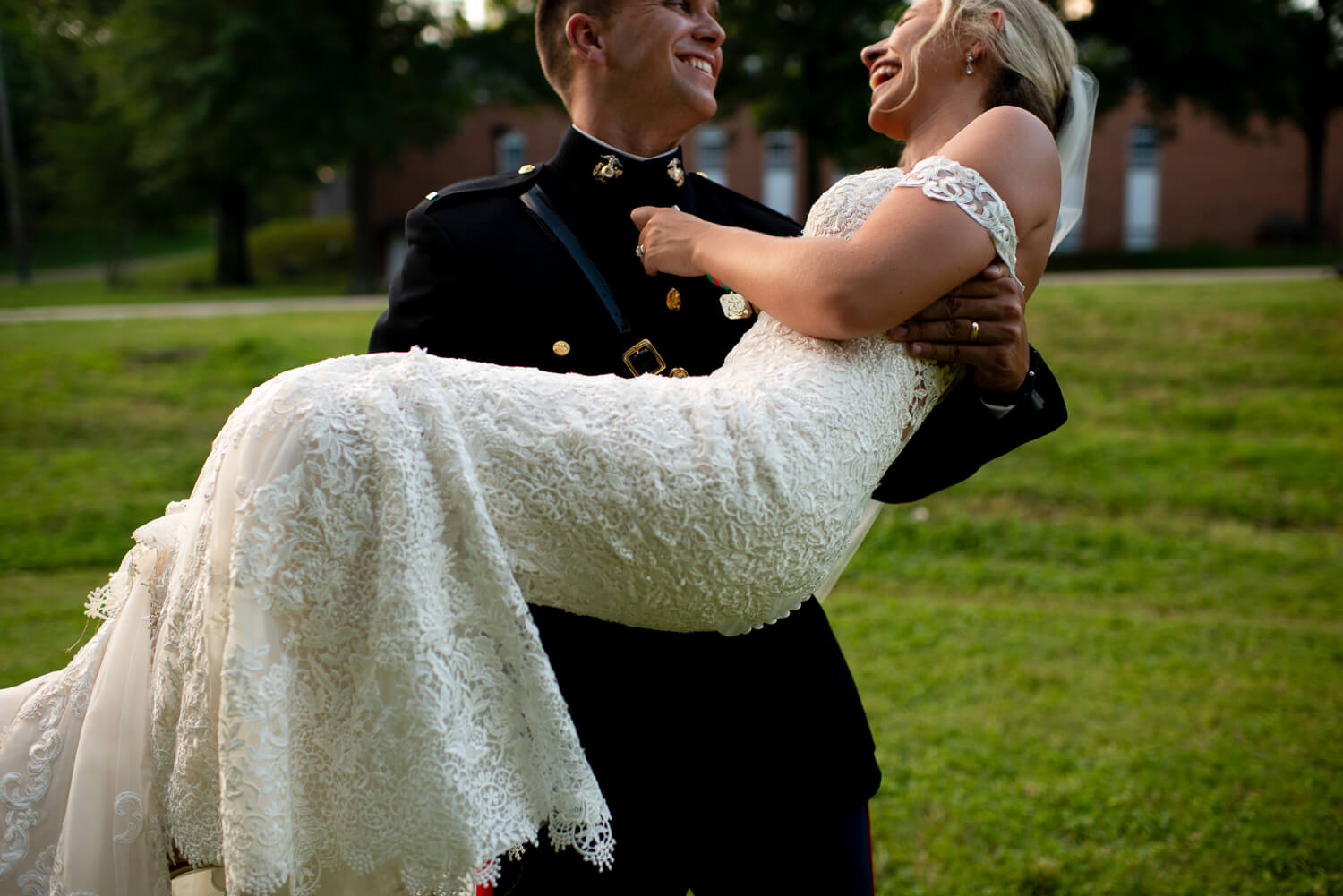 Memphis military wedding by ALN Images